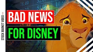 Bad News for Disney Stock Shareholders