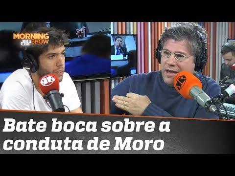 Caio Coppolla e Edgard divergem sobre conduta de Sergio Moro na Lava Jato