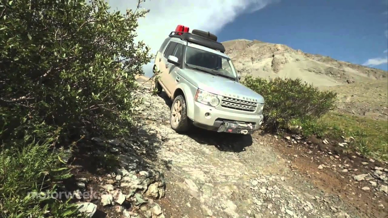 Over the Edge Land Rover Expedition America