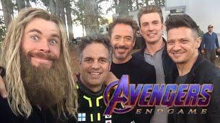 Актеры - Мстители: Финал