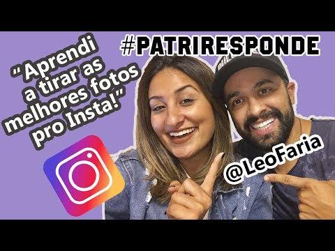 LIVE #PatriResponde Respondendo Com Vocês E Bate Papo Com Leo Faria!