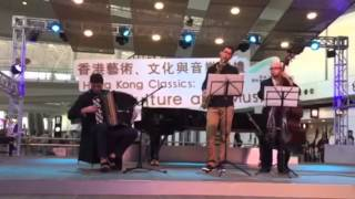 Western Accordion Trio for hire - Birkun Productions at Hong Kong International airport