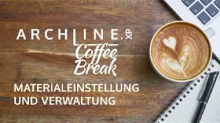 ARCHLine.XP - Die CAD + BIM Software Coffe Break Materialverwaltung