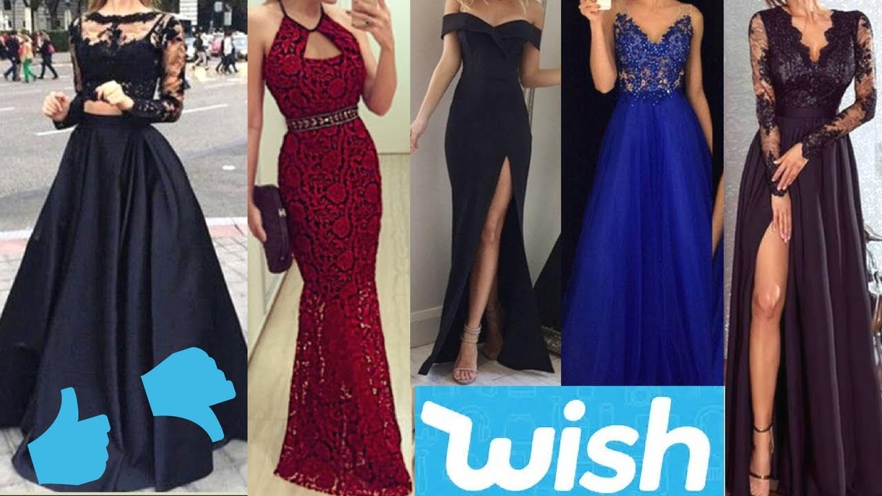 c28bb2069 WISH PROM DRESSES UNDER  15  FAILS AND STEALS! - YouTube