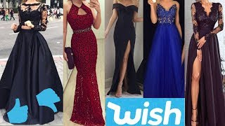 WISH PROM DRESSES UNDER $15: FAILS AND STEALS!