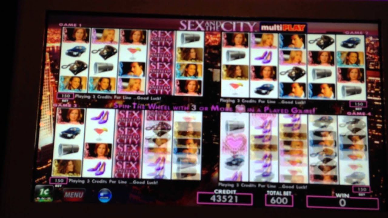 Sex and the city slot machine for sale craps download freeware