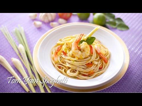 Tasty Treat Tom Yam Spaghetti Youtube