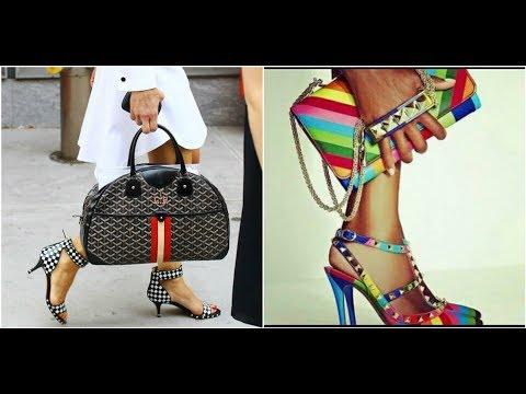 Cómo COMBINAR bolsa y zapatos / ¿Los zapatos deben ser mismo color de la bolsa?