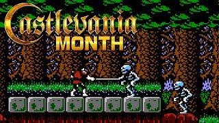 Castlevania 2 (FDS) - CastleMaynia [Castlevania Month 2019]