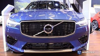 2019 Volvo XC60 T8 R Design - Exterior and Interior Walkaround - 2019 Montreal Auto Show
