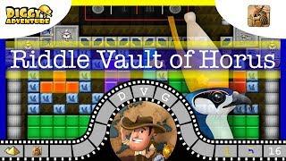 [~Horus~] # Riddle Vault of Horus - Diggy