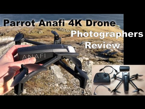 Parrot Anafi 4k Drone – Photographer's Review – Drone Review Videos