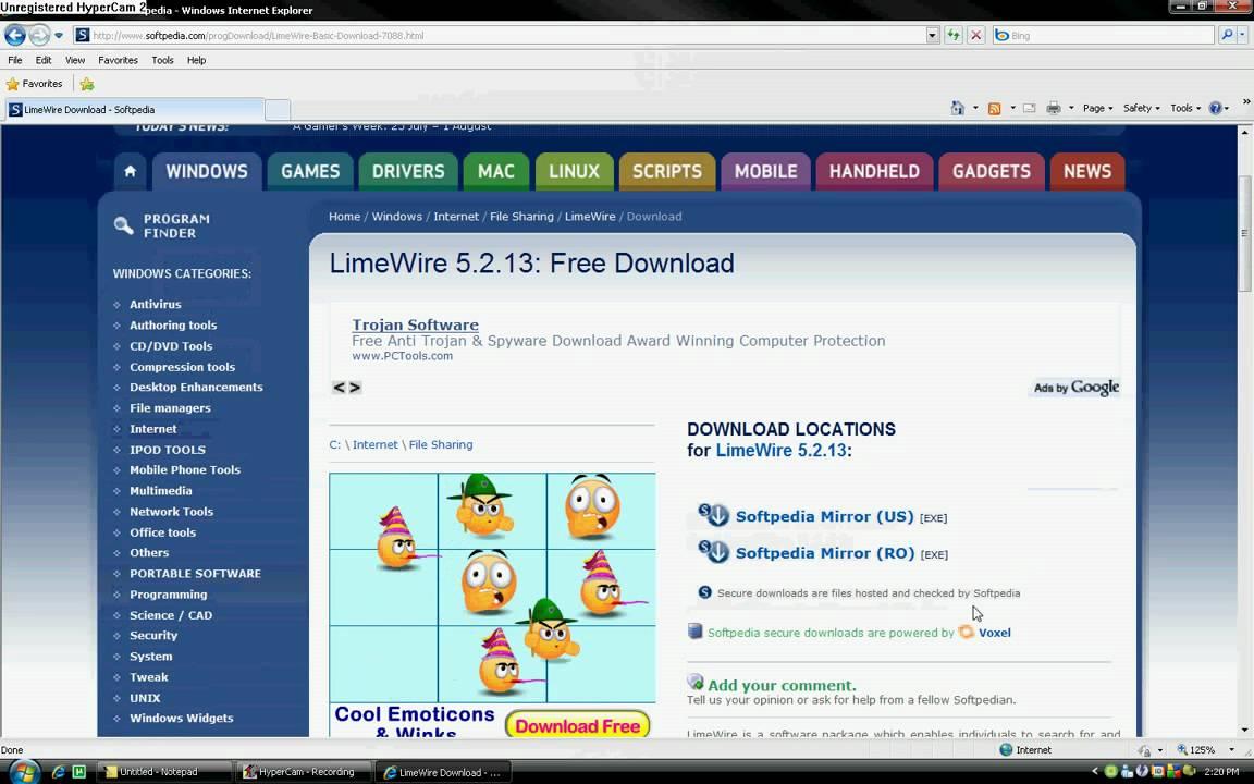 limewire 5.2.13