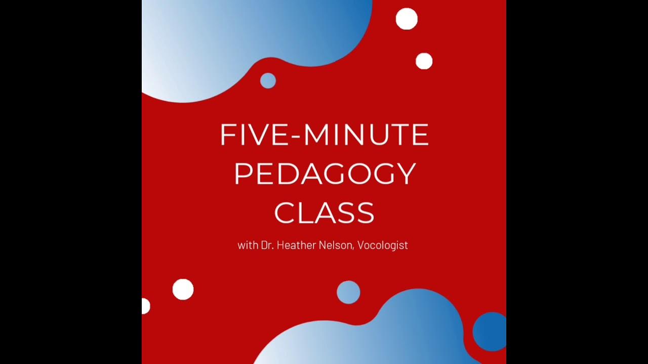 Five-Minute Pedagogy Class: The Epiglottis