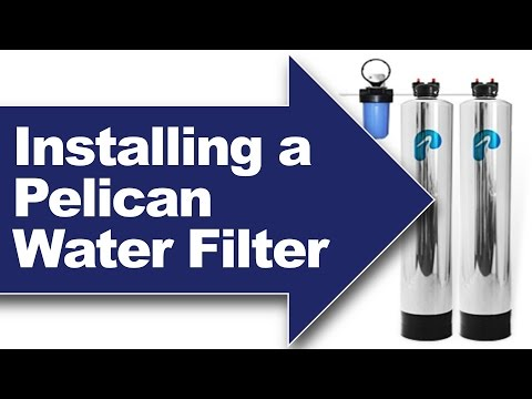 Installing a Pelican PSE1800/PSE2000 Whole-House Water Filter