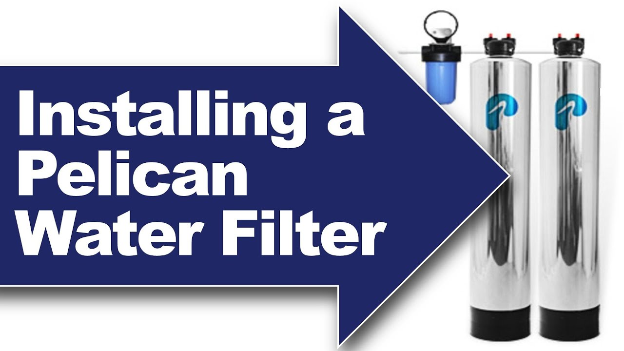 In Home Water Filtration Installing A Pelican Pse1800 Pse2000 Whole House Water Filter