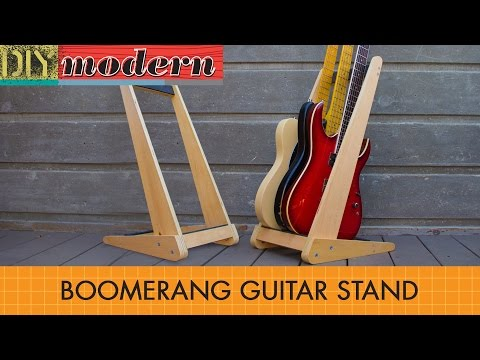 How to make a modern guitar stand