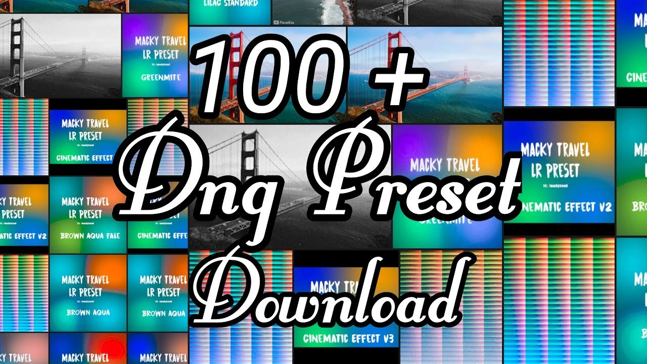 lightroom cc mobile tutorial 100+ Dng preset Download || how to download  Dng preset