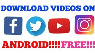 How to download videos from facebook whatsapp twitter keek dailymotion pinterest 2018