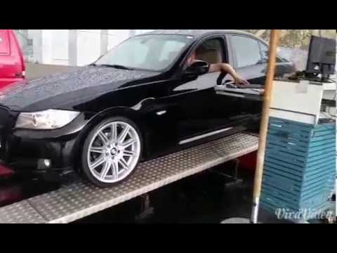 bmw e90 318 d 2010 lci chip tuning dyno run youtube. Black Bedroom Furniture Sets. Home Design Ideas