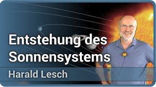 Harald Lesch: Vortrag zur Entstehung des Sonnensystems • Astronomie und Kosmologie • Live im Hörsaal