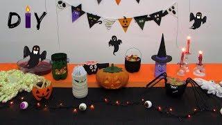 DIY   Decoração Halloween 5 idéias super fáceis de fazer