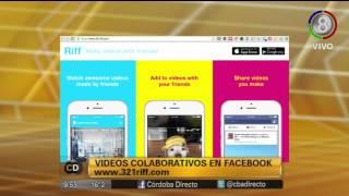 App para videos colaborativos en Facebook y un drone que corre... ovejas