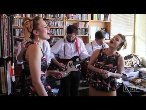 Lucius: NPR Music Tiny Desk Concert