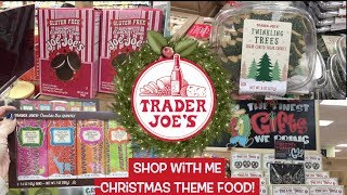 New at Trader Joe's Christmas 2018!  Shop With Me!  SO many fun seasonal holiday items!