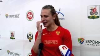 Виктория Сударушкина - Чемпионка России 2014 в метании копья. Интервью.