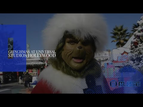 Universal Studios Hollywood Grinchmas Has Begun!
