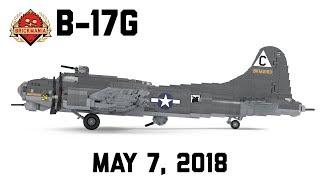 Б-17г - важкий бомбардувальник Другої світової війни - власні військові Лего