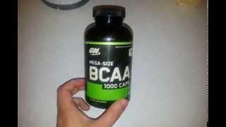 Аминокислоты BCAA mega-size 1000 caps Optimum Nutrion