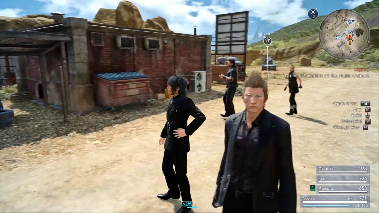 Final Fantasy XV - WE / Blurry Problem Fixed (may work for you too)