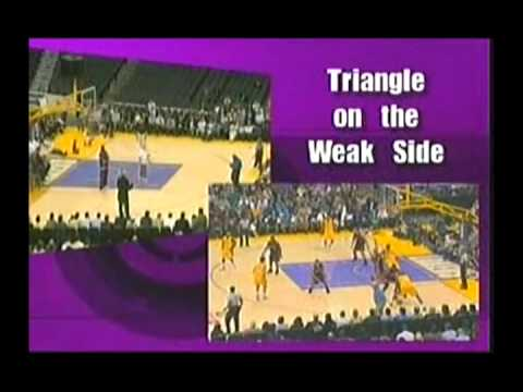 Triangle Offense Phil Jackson
