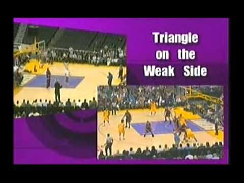 Triangle Offense Phil Jackson
