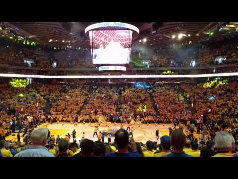 4K Video - Golden State Warriors vs. Oklahoma City Thunder - May 26, 2016 - NBA Playoffs