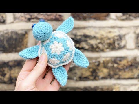 Amigurumi turtle crochet coaster - Amigurumi Today | 360x480