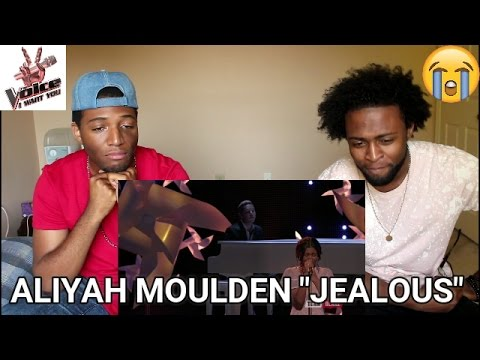 "The Voice 2017 Aliyah Moulden - Top 10: ""Jealous"" (REACTION)"