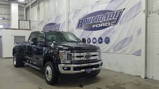 2019 Ford Super Duty F-450 DRW CrewCab Lariat W/ 6.7L Power Stroke, Leather Overview | Boundary Ford