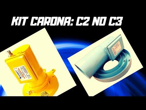 C2 DE CARONA NO C3 NA ANTENA TELADA DE 1.50