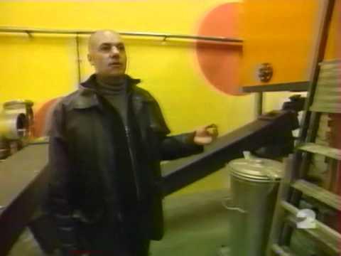 La Chaufferie à Bois - JT France 2 (28/12/2001)