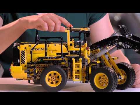rc-volvo-l350f-wheel-loader---lego-technic---designer-video