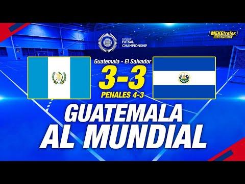 Guatemala 3 - 3 El Salvador ( 4-3 Penales) |Resumen y Goles | Concacaf Premundial de Futsal 2021
