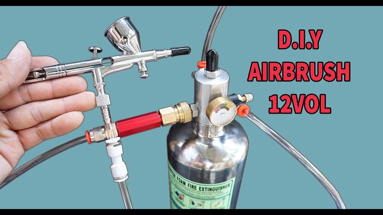 Video hướng dẫn chi tiết tự chế 1 chiếc máy sơn mô hình AIRBRUSH từ A-Z