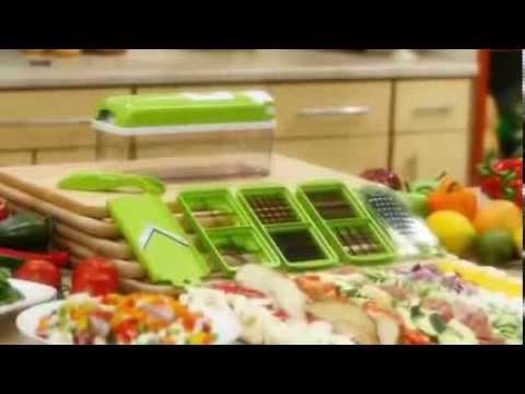 Bộ cắt gọt rau củ quả 10 món Nicer Dicer Plus tại sieuthi247vn.com