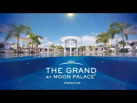 The Grand At Moon Palace Cancun Mexico Amazing experiences, WATCH NOW!