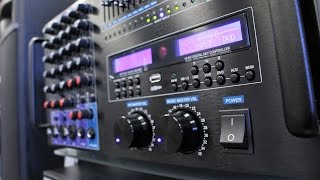 Máy Mới BA-6800 Mixing Ampli 1400W Cho Ca Hát Karaoke Thoải Mái