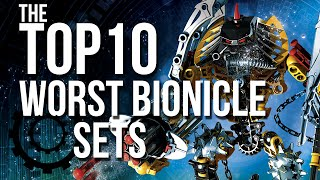 The Top 10 Worst BIONICLE Sets