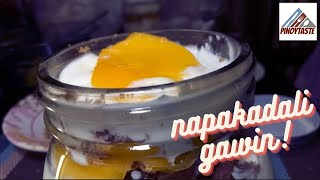 MANGO GRAHAM FLOAT IN A JAR | PINOY TASTE